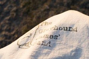 cotton bag linoleum detail